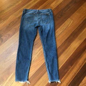 Joe's jeans- raw edge